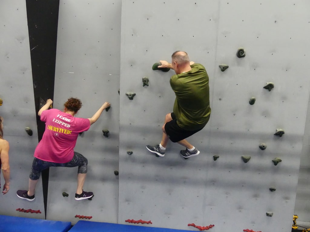 Adult Ninja Warrior Training - The Ninja's Edge in Michigan