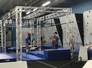Youth Ninja Warrior Training Classes in Plymouth, MI