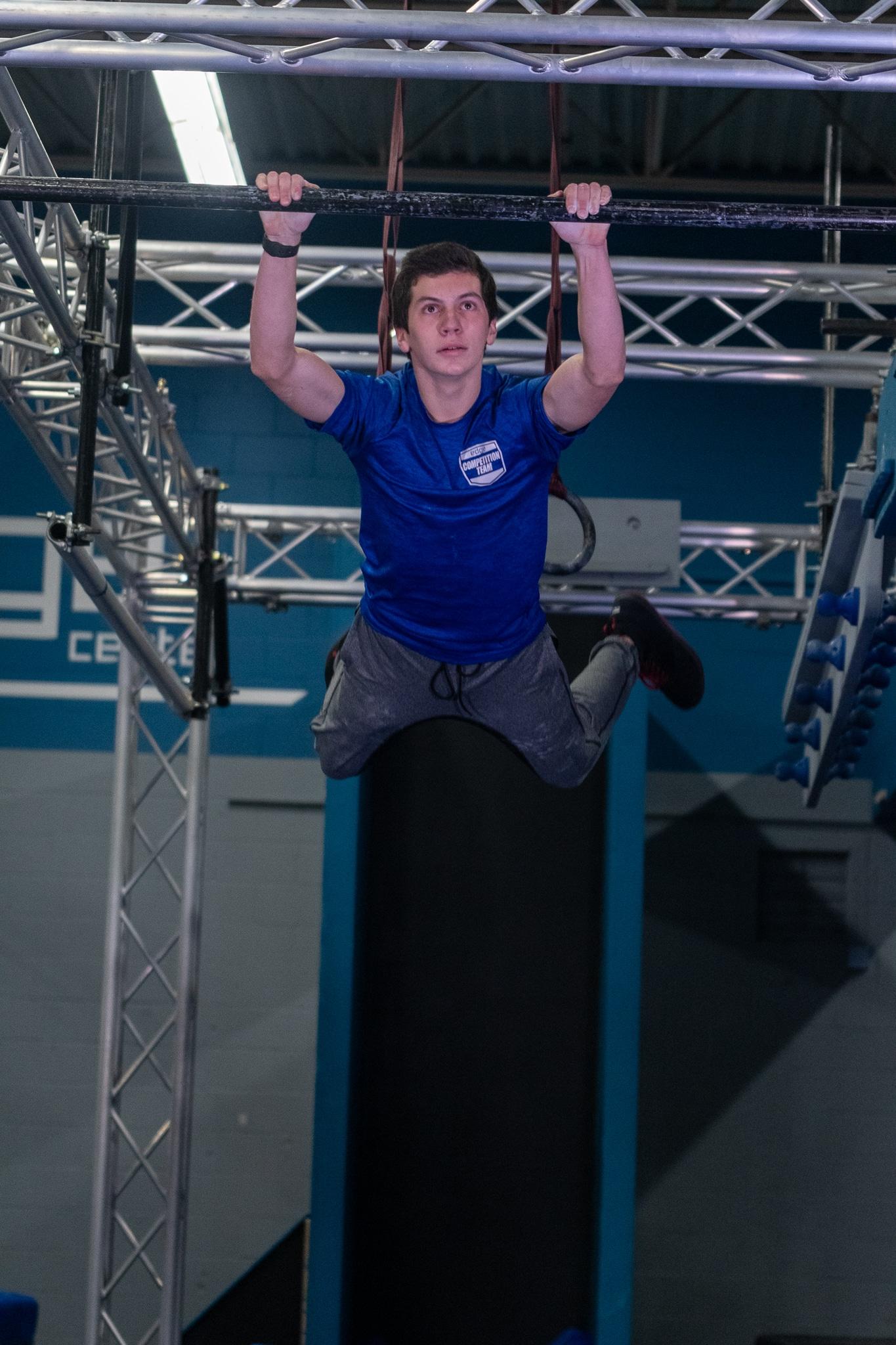 Coach Andrew - Youth Ninja Warrior Trainer/Coach