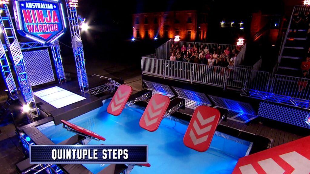 Ninja Warrior Obstacle Course Guide 1