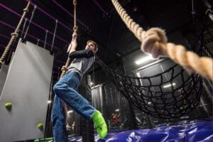 How to Improve Rope Climb Time in Ninja Warrior Competition 1