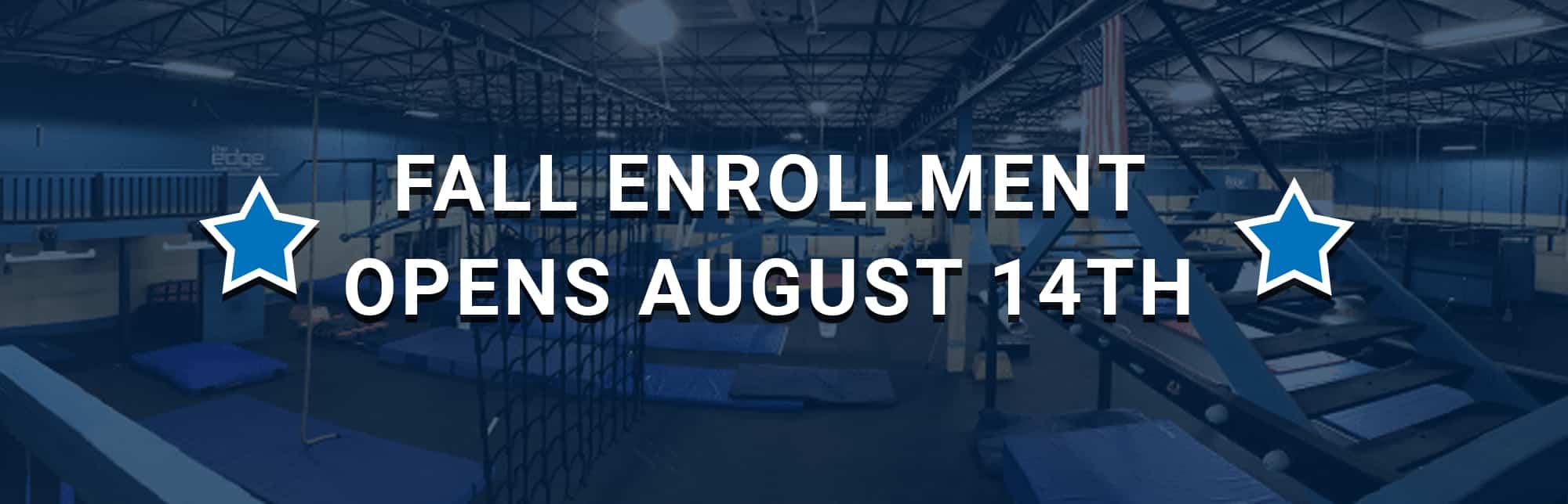 Ninja Class Fall Enrollment - The Ninja's Edge